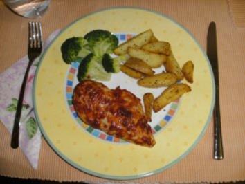Scharfe Hähnchenbrust - Rezept