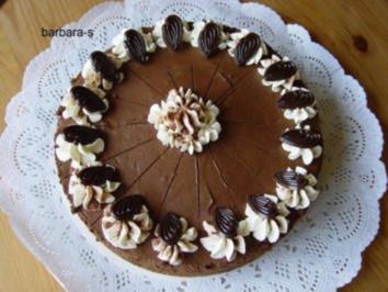 Torten: Mousse au chocolate - Torte - Rezept