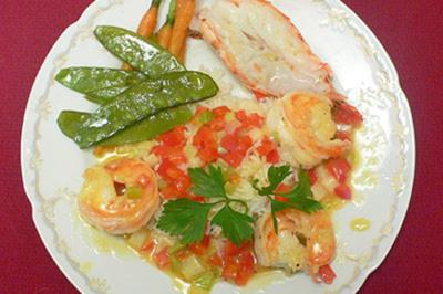 Shrimps au Pastis - Rezept