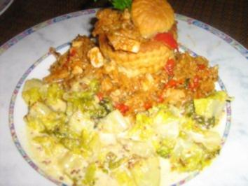 Rezept: Warmer Romana-Salat