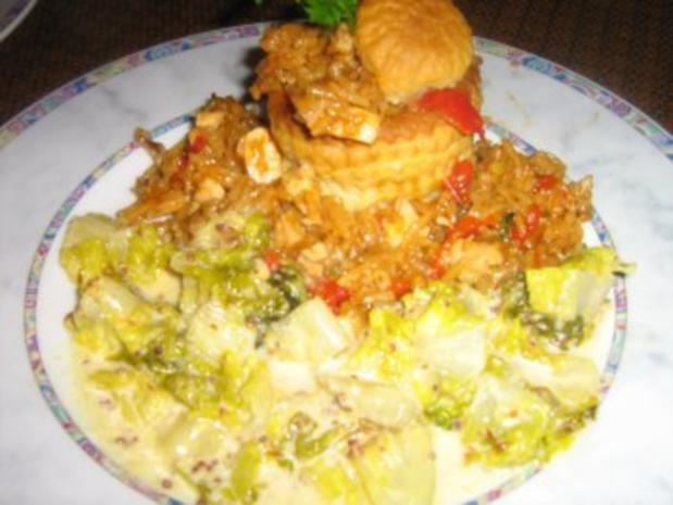 Warmer Romana-Salat - Rezept