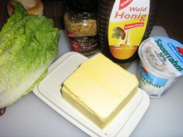 Warmer Romana-Salat - Rezept - Bild Nr. 2