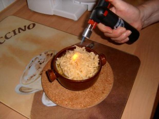 Flambierte Zwiebelsuppe - Rezept - Bild Nr. 4