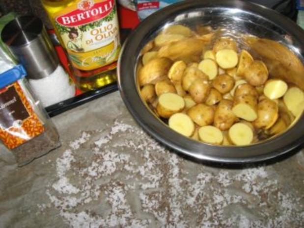 Backofen-Kümmelkartoffeln - Rezept - Bild Nr. 2