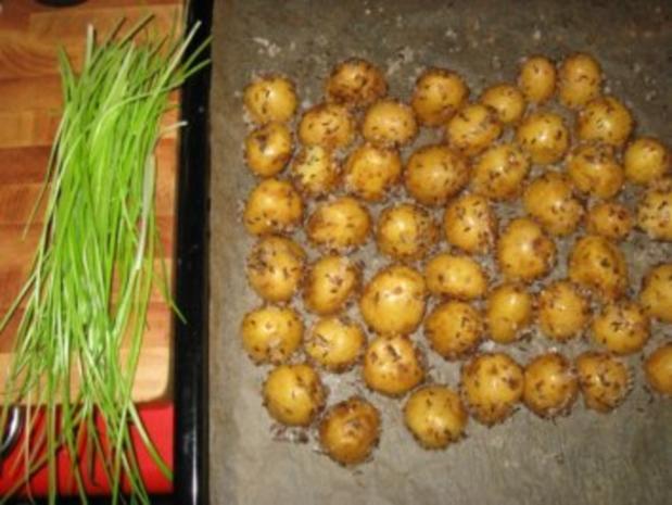 Backofen-Kümmelkartoffeln - Rezept - Bild Nr. 3