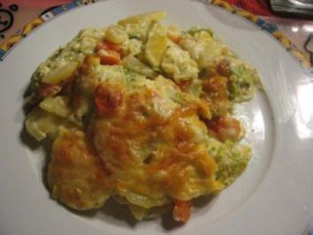 Wirsing-Kartoffel-Möhren-Auflauf - Rezept