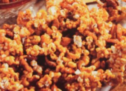 Popcorn Verrueckt - In Amerika gibts solche Snacks mit verschiedene Zutaten - Habe Bild eingestellt - Rezept
