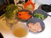 Rotes Hähnchen Curry - Rezept