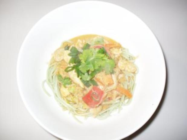 Rotes Hähnchen Curry - Rezept - Bild Nr. 4