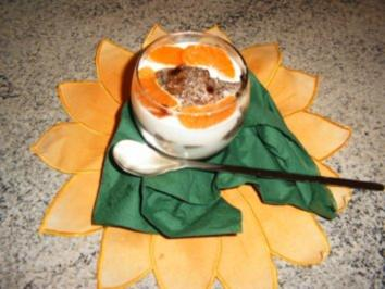 Mohn- Pflaumenmuß -Joghurtdessert - Rezept