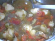 Winterliches Gemüsesüppchen           - mit Grießklöschen von  irsima 60- - Rezept