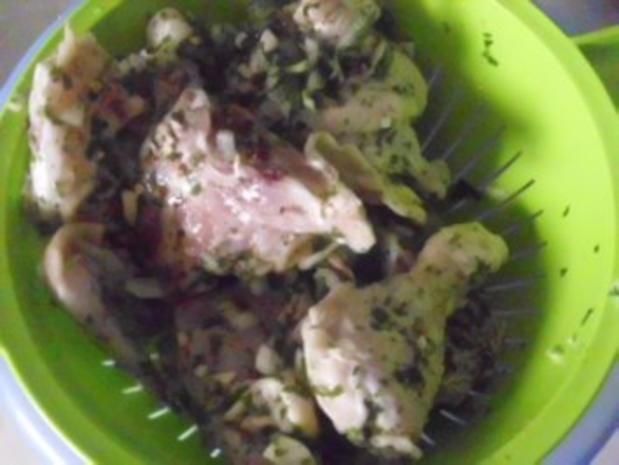 Geschmortes Hähnchen - Rezept - Bild Nr. 5