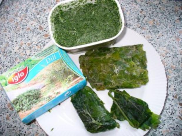 Grüne Semmelklöße - Rezept - Bild Nr. 3