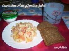 Salat: Exotischer Reis-Gemüse-Salat - Rezept