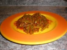 Bohnen in Tomatensauce - Rezept