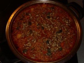 Aufläufe: Couscous-Auflauf mit Lamm und Gemüse - Rezept