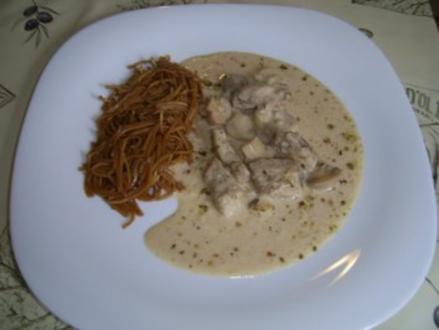 Kotopoulo mit Senfsauce - Rezept