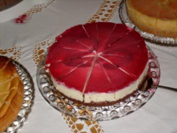 Himbeer- Mascarpone- Torte - Rezept