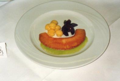 Rochenflügel mit Champignonkartoffeln und roten Bohnen - Rezept