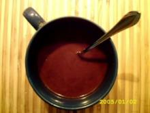 Heiße Schokii:Bitterschokolade - Rezept
