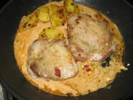 Scharfe Hähnchensteaks - Rezept