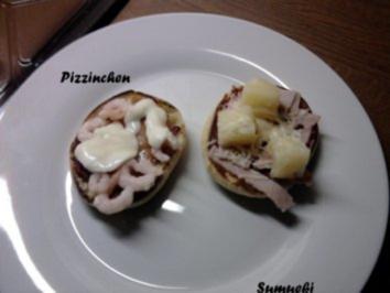 Phantasie-Pizzinchen - Rezept
