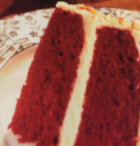 Roter Samt  Kuchen -Echt Amerikanisch schmeckt zart wie Samt - Leicht zu backen - Bild eingegeben - Rezept