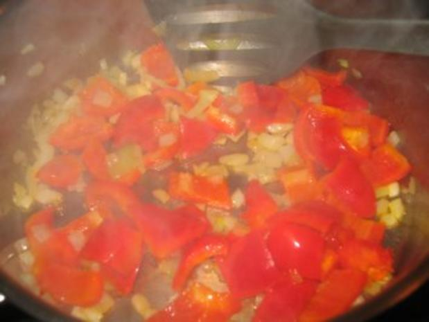 Suppe: Feines, scharfes Paprika-Käse Süppchen! - Rezept - Bild Nr. 5