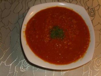 Suppen: Rote Linsensuppe ( Scharf ) - Rezept