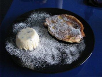 Vanilleeis mit Schokostückchen - Rezept