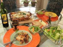 Lasagne -Schwarze Bohnen - Ohne Fleisch - Jeder backt Lasagne aber diese ist anders - mit Bildern - Rezept