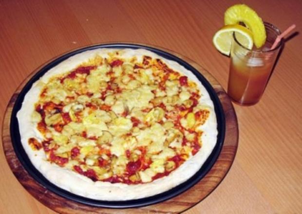 Italienischer Pizzateig - Rezept
