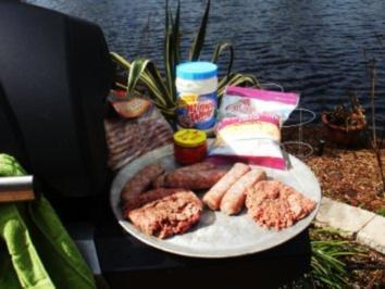 Klassic Pimientokaese und Bacon Burger - Elvis Presley liebte Pimento Kaese auf seinen Hamburgers - Rezept
