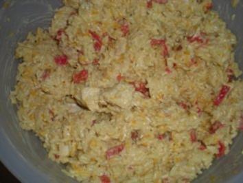 """SALAT- """"Reisalat asiatisch angehaucht"""" - Rezept"""
