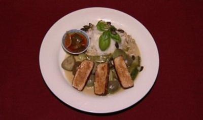 Grünes Thai-Curry ohne Tiere und mit Basmati (Kerstin Linnart) - Rezept