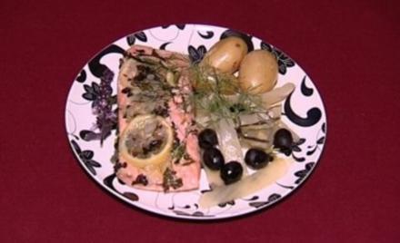 Lachs in Backpapier mit Kartoffeln und gebackenem Fenchel (Jessica Boehrs) - Rezept