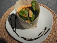 Chicken-Wraps mit Ricotta Créme - Rezept