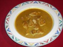 Putengulasch in Kürbissauce - Rezept