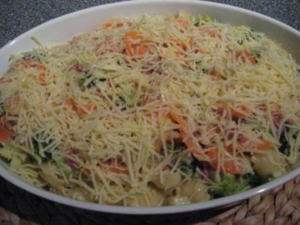 Brokkoli-Nudel-Auflauf - Rezept - Bild Nr. 5