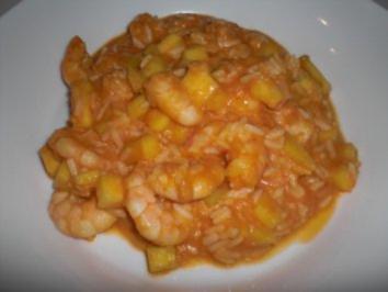 Garnelen-Kokos-Curry - Rezept