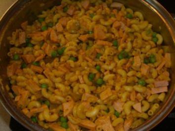 Salate: Curry Nudelsalat - Rezept