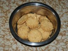 Hunde - Käsepläzchen - Rezept