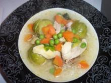Eintopf mit Reis & Huhn - Rezept