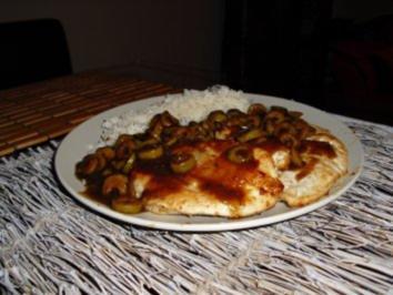 Schnitzel in Balsamicosauce - Rezept