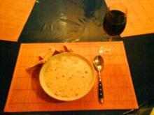 Suppe: Maiscremesuppe mit Paprika und Thunfisch - Rezept