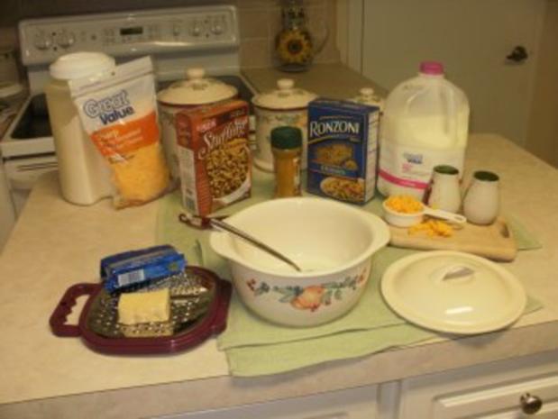 Makaroni und Kaese - ein klassikes Amerikanisches Familien essen - fuer die Kinder ist das #1 - Rezept - Bild Nr. 2