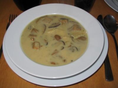 Leckere Pilzsuppe - Rezept