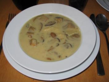 Rezept: Leckere Pilzsuppe