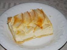 Apfel-Käse-Kuchen vom Blech - Rezept