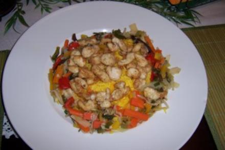 Huhn Asiatisch - Rezept